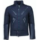 Next Style Winterjassen blauw