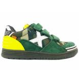 Munich Sneakers klittenband g3 camo kids groen