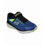 Skechers Kids transvert 98141l/rybk blauw