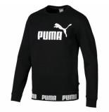 Puma Amplified crew fl 040370 zwart