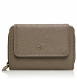 dR Amsterdam Damesportemonnee Taupe One size