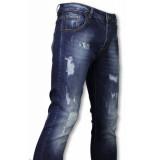 Avenue Basic jeans blauw