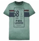 PME Legend Ptss191512 6082 r-neck single jersey jasper groen