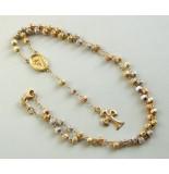 Christian 18 karaat gouden rozenkrans rosé goud