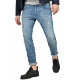 G-Star 3301 slim lt aged destroy denim
