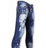 Mario Morato Heren broeken blauw