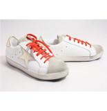 KEB Italia 551 /goud sneakers wit