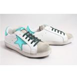 KEB Italia 551 /groen sneakers wit