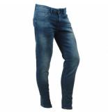 Cars Heren jeans slim fit stretch lengte 36 blast lion blue blauw
