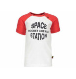 Like Flo Shirt korte mouw raglan red rood