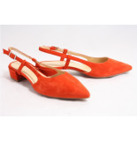 Barnello 8213 pumps open hiel rood