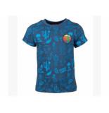 Someone Shirt korte mouw aop fiesta blauw