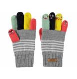 Barts Handschoenen puppet licht melee grijs
