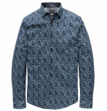 Vanguard Vsi186400 5286 long sleeve shirt cf paintbrush navy r blauw