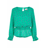 Numph Jonet blouse groen