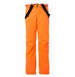 Brunotti Fluor jongens skibroek footstrap 8.000mm waterkolom oranje