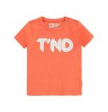 Tumble 'n Dry Shirt korte mouw aquapo oranje