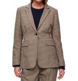 Selected Femme Slfmargery ls blazer birch bruin