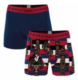 Muchachomalo Men 2-pack short print/solid