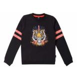 Little Miss Juliette Sweater tiger zwart