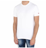 Dsquared2 2 round eck t-shirt wit