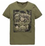 PME Legend Short sleeve r-neck play lw t-shirt martine ptss184531 groen