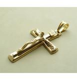 Christian Bicolor gouden kruis