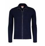 Blue Industry Vest knitwear blauw