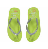 Quapi Slipper stoney fresh yellow groen