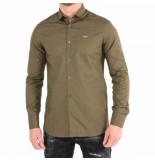 Philipp Plein Original shirt diaond cut groen