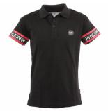 Philipp Plein Junior polo shirt ss tm zwart