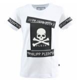 Philipp Plein Junior t-shirt round eck ss tm wit