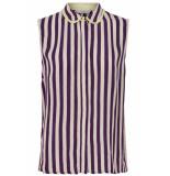 Numph Kat shirt plum perfect paars