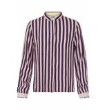 Numph Lekelien shirt plum perfect paars