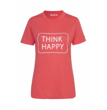 mbyM Think happy adabelle print top calypso coral roze