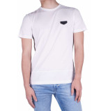 Antony Morato T-shirt tape lateral body side wit
