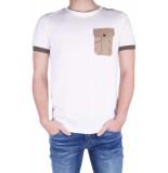 Antony Morato T-shirt pocket& piping wit