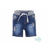 Feetje Short boys denim blauw