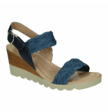 Relaxshoe Slippers sandalen 041453 denim