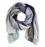 Sandwich 28001407 40151 scarf woven maritime blue blauw