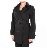 Airforce Trench coat zwart