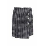 LOFTY MANNER Skirt britz blk zwart