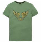 PME Legend Ptss192536 6198 r-neck single jersey deep grass green groen