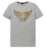 PME Legend Ptss192536 960 r-neck single jersey grey melee grijs