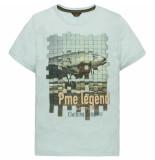 PME Legend Ptss192533 5147 short sleeve r-neck hobbs cloud blue blauw
