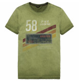 PME Legend Ptss192532 6216 r-neck single jersey cypress groen