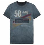 PME Legend Ptss192532 5147 r-neck single jersey cloud blue blauw