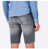 Cast Iron Csh192201 swg denim short stone wash grey stone wash grey grijs
