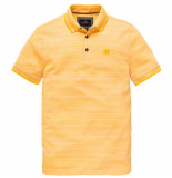 Vanguard Short sleeve polo pique two tone m old gold geel