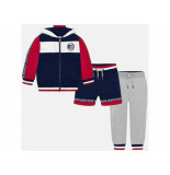 Mayoral Set 3-delig tracksuit boys blauw